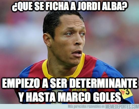 23238 - ¿Que se ficha a Jordi Alba?
