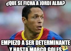 Enlace a ¿Que se ficha a Jordi Alba?