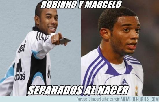 23420 - Robinho y Marcelo, separados al nacer