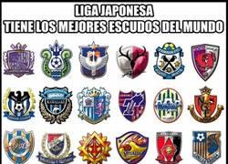 Enlace a Japón tiene los mejores escudos del mundo