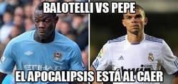 Enlace a Y hoy, Balotelli vs Pepe