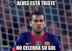 Enlace a Alves está triste