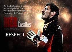 Enlace a Iker Casillas #respect