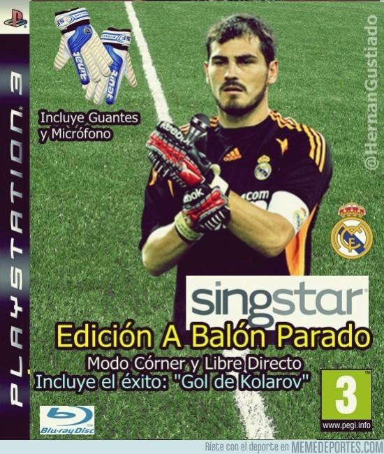 24658 - SingStar Casillas, cantadas a balón parado