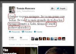 Enlace a Tomás Roncero se supera día tras día en su twitter
