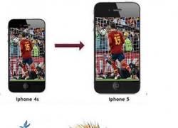 Enlace a A Ramos ya le vale con el Iphone 4.