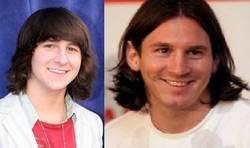 Enlace a Mitchel Musso y Messi, separados al nacer