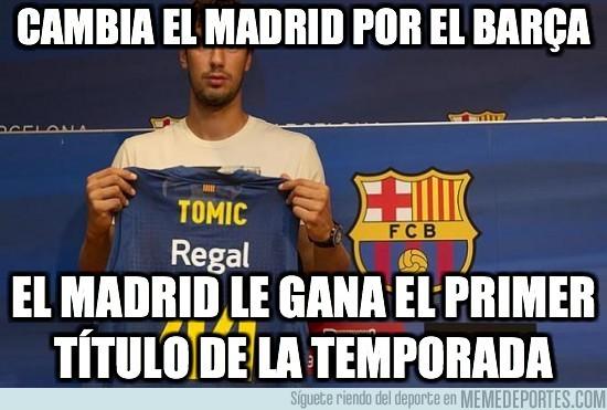 25157 - Cambia el Madrid por el Barça