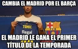 Enlace a Cambia el Madrid por el Barça