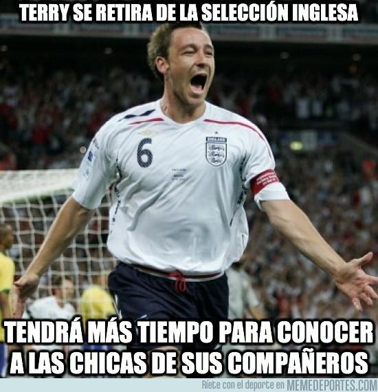 25277 - Terry se retira de la selección inglesa