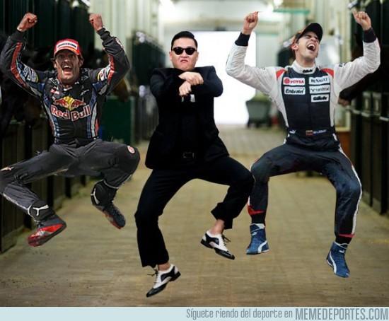 25424 - ¡F1 Gangnam Style!