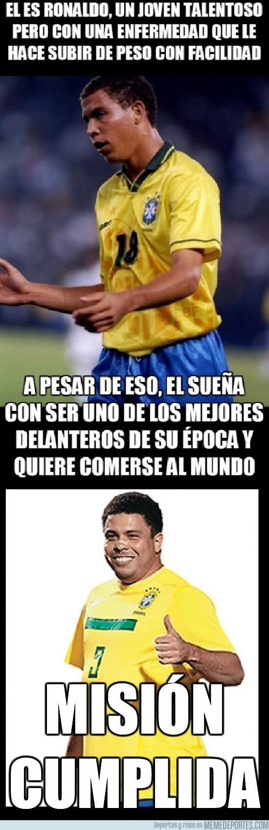 25431 - Ronaldo, persiguió sus sueños