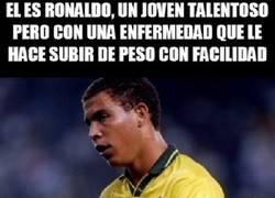 Enlace a Ronaldo, persiguió sus sueños