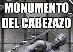 Enlace a Monumento del cabezazo