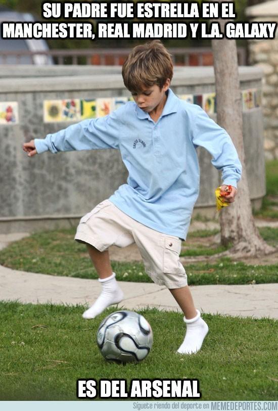 25963 - Su padre fue estrella en el Manchester, Real Madrid y L.A. Galaxy