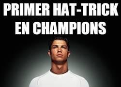 Enlace a Primer hat-trick en champions