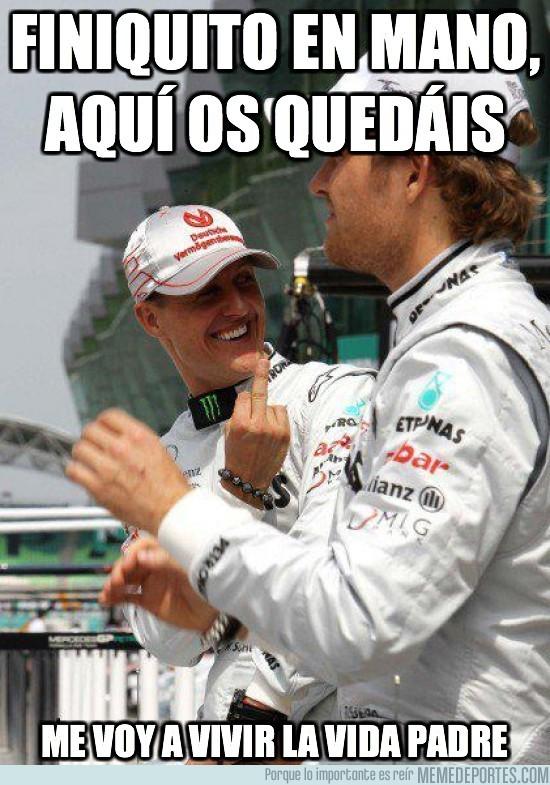 27294 - Schumacher se retira por segunda vez