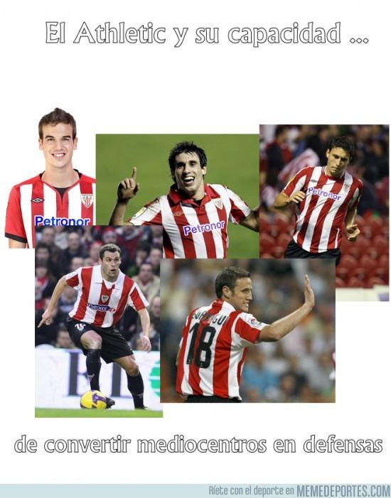 27338 - El Athletic y sus defensas