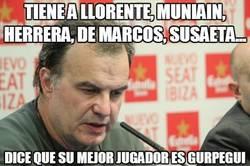 Enlace a Tiene a Llorente, Muniain, Herrera, De Marcos, Susaeta...