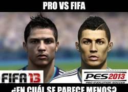 Enlace a PRO vs FIFA
