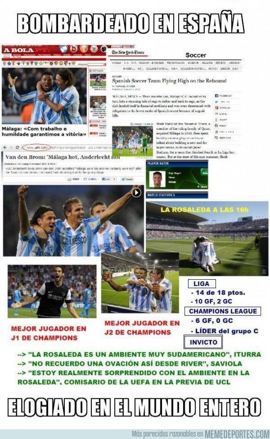 27471 - Resultados inmejorables del Málaga
