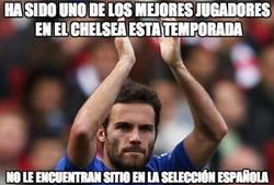 Enlace a Ha sido uno de los mejores jugadores  en el Chelsea esta temporada