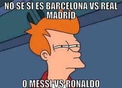 Enlace a Messi vs Ronaldo