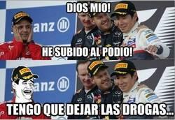 Enlace a ¿Massa en el podio? Fin del mundo