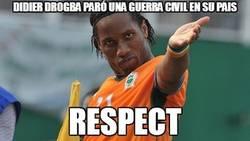 Enlace a Didier Drogba paró una guerra civil en su pais