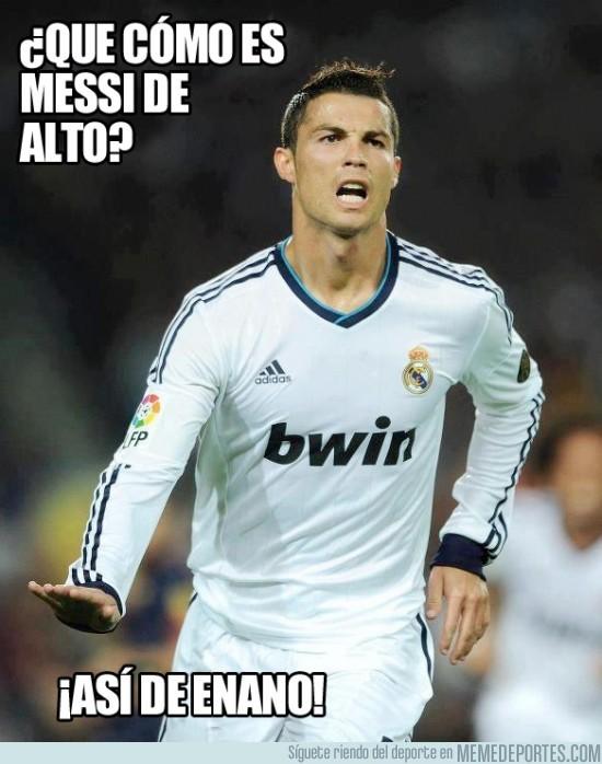 28714 - ¿Que cómo es Messi de Alto?