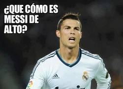 Enlace a ¿Que cómo es Messi de Alto?
