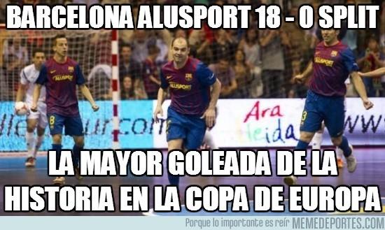 28885 - Barcelona Alusport 18 - 0 Split