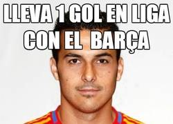 Enlace a Lleva 1 gol en liga con el Barça