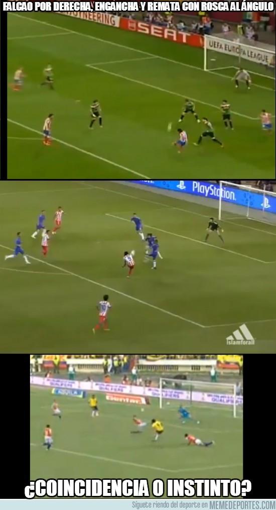29319 - Típico gol de Falcao