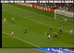 Enlace a Típico gol de Falcao