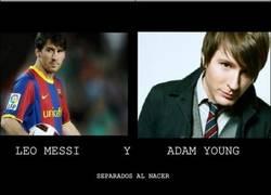 Enlace a Messi y Adam Young