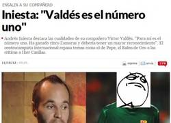 Enlace a Valdés es el número 1