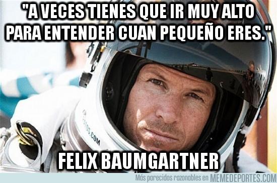 29869 - Frase inspiradora de Felix Baumgartner
