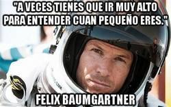 Enlace a Frase inspiradora de Felix Baumgartner