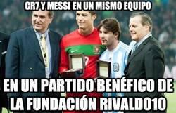 Enlace a La fundación Rivaldo10 hará un partido benéfico y los invita