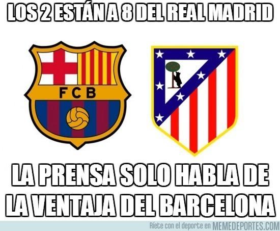 29970 - La prensa sólo destaca al Barça