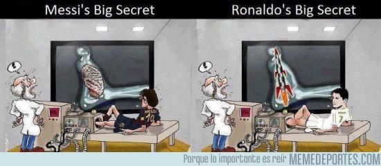 30017 - El secreto de Messi y Cristiano