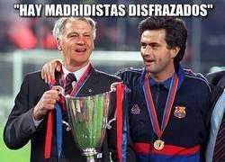 Enlace a Madridistas disfrazados
