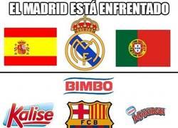 Enlace a El Madrid está enfrentado