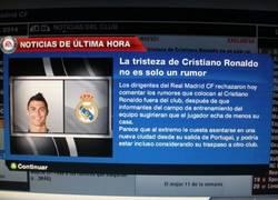 Enlace a Fifa 13 sigue troleando con la tristeza de CR7