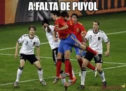 Enlace a A falta de Puyol
