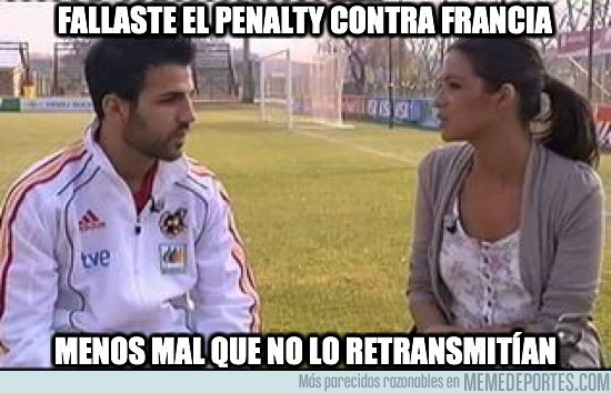 30437 - Fallaste el penalty contra Francia