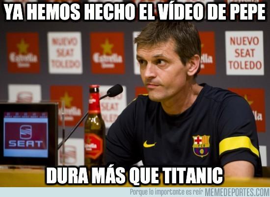 30510 - El Barça ya tiene el vídeo de Pepe