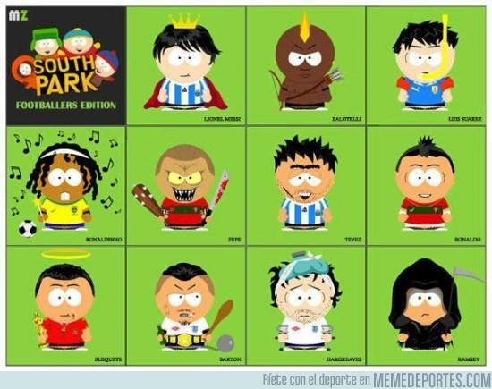 30610 - Futbolistas según South Park