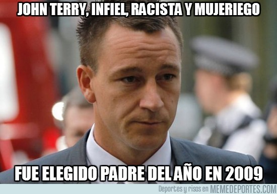 30639 - John Terry, infiel, racista y mujeriego